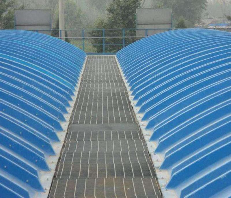 大跨度玻璃鋼污水池罩